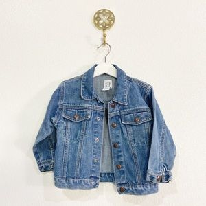 Baby Gap Vtg Denim Jacket 3T euc